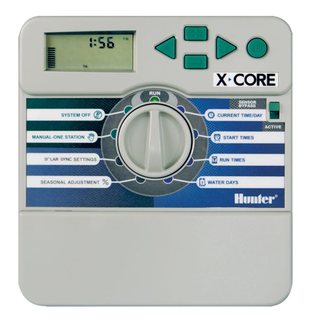 Hunter, 6 Station irrigation controller